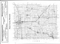 Index Map, Mower County 1984